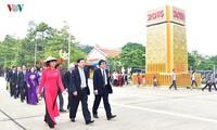 Les dirigeants de la VOV rendent hommage au président Ho Chi Minh