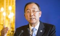 Réfugiés : Entretiens téléphoniques entre Ban Ki-moon et les dirigeants européens