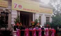 Exposition: «70 ans de l'Assemblée nationale vietnamienne»