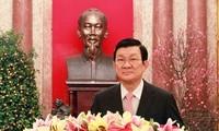 Tet 2016 : Voeux du président de la République Truong Tan Sang