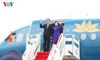 Le président Tran Dai Quang entame sa visite à Cuba