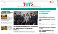 Nouvelle interface pour le site web de VOV5