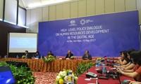 Mengembangkan sumber daya manusia dalam era digital : Vietnam telah memilih tema yang tepat dan waktu yang tepat