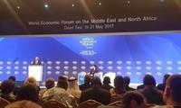 Forum Ekonomi Dunia tentang Timur Tengah dan Afrika Utara menekankan peranan badan-usaha pada zaman baru