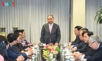 PM Nguyen Xuan Phuc mengunjungi Delegasi Perwakilan Tetap Vietnam di PBB