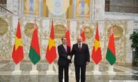 Vietnam dan Belarus berupaya keras mencapai nilai pergadangan bilateral sebanyak 500 juta dolar AS pada beberapa tahun mendatang