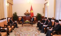 Deputi PM, Menlu Pham Binh Minh menerima Dubes Timor Leste
