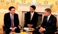 Deputi PM Vietnam, Vuong Dinh Hue mengakhiri dengan baik kunjungan kerja di Slovakia