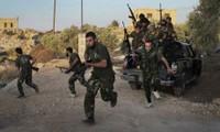 Tentara Rusia dan Suriah memperkuat serangan terhadap Pasukan pemberontak di Suriah