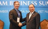 PM Vietnam, Nguyen Xuan Phuc menerima para pemimpin beberapa Grup Internasional peserta VBS