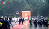 Presiden Vietnam, Tran Dai Quang melakukan pembicaraan dengan Presiden AS, Donald Trump