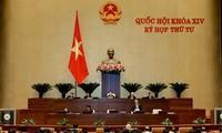 MN membahas UU mengenai Pencegahan dan Pemberantasan Korupsi (amandemen)