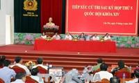 Ketua MN Vietnam, Nguyen Thi Kim Ngan mengadakan kontak dengan para pemilih KODAM 9, Kota Can Tho