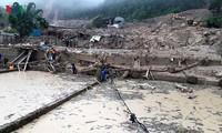 Provinsi-provinsi di daerah Vietnam Utara berinisiatif menanggulangi bencana hujan, banjir dan banjir bandang