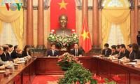 越南国家主席陈大光会见日本爱知县知事大村秀明