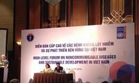 越南举行非传染性疾病及可持续发展高级论坛