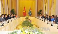 南非希望促进与越南关系
