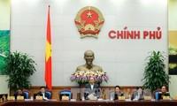 越南政府举行11月份工作例会