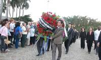 阮氏金银在古巴吊唁古巴革命领袖菲德尔•卡斯特罗