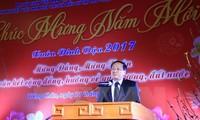 越南驻外代表机构举行拜年活动