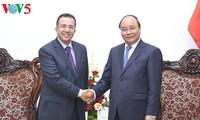 越南政府总理阮春福会见摩洛哥和东帝汶驻越大使