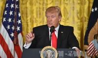 美国总统特朗普暂缓颁布新移民行政令