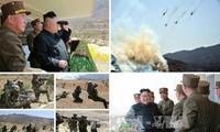 韩国领导人警告朝鲜勿挑衅
