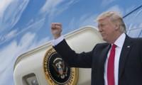 美国总统特朗普的多种目的之旅