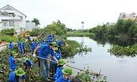 胡志明市举行2017年绿色夏季志愿者活动出征仪式