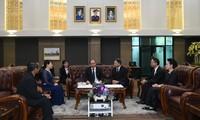 越南政府总理阮春福抵达曼谷开始对泰国进行正式访问