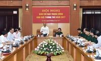阮春福出席防守区中央指导委员会第一次会议