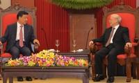 越南和中国共同重视传统友好合作关系