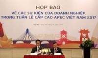 越南企业响应2017年APEC领导人会议周的活动