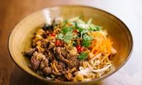 越南的南部牛肉米粉