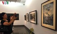 越南多位女画家绘画作品展开幕