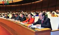 越南国会通过2018年经济社会发展计划决议