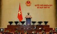 越南14届国会4次会议讨论《反腐败法修正案(草案)》