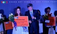 Do Phuong Quynh est la gagnante du concours de chanson francophone 2017