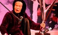 La cantante de Xẩm, Hà Thị Cầu deja detrás un gran legado artístico