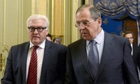 Germany and Russia discuss situation in Syria and Crimea
