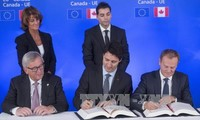 EU, Canada open a new page in trade cooperation
