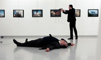 Russian Ambassador to Turkey assassinated