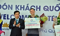 Vietnam welcomes 10 millionth foreign visitor