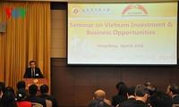 """""""在越投资营商机会""""座谈会在中国香港举行"""