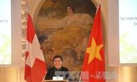 越南国会副主席丛氏放出席越瑞建交45周年系列纪念活动