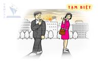 越南语教学:Tạm biệt 告别