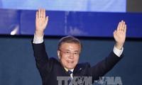 文在寅当选新一任韩国总统