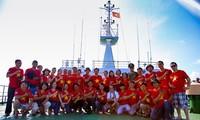 """""""庆和省青年为了家乡海洋岛屿""""日在芽庄市举行"""