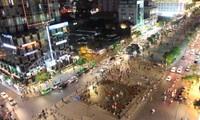 胡志明市裴院步行街即将投入运行
