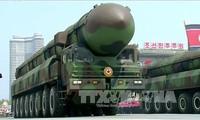 韩美重申在朝鲜问题上的承诺